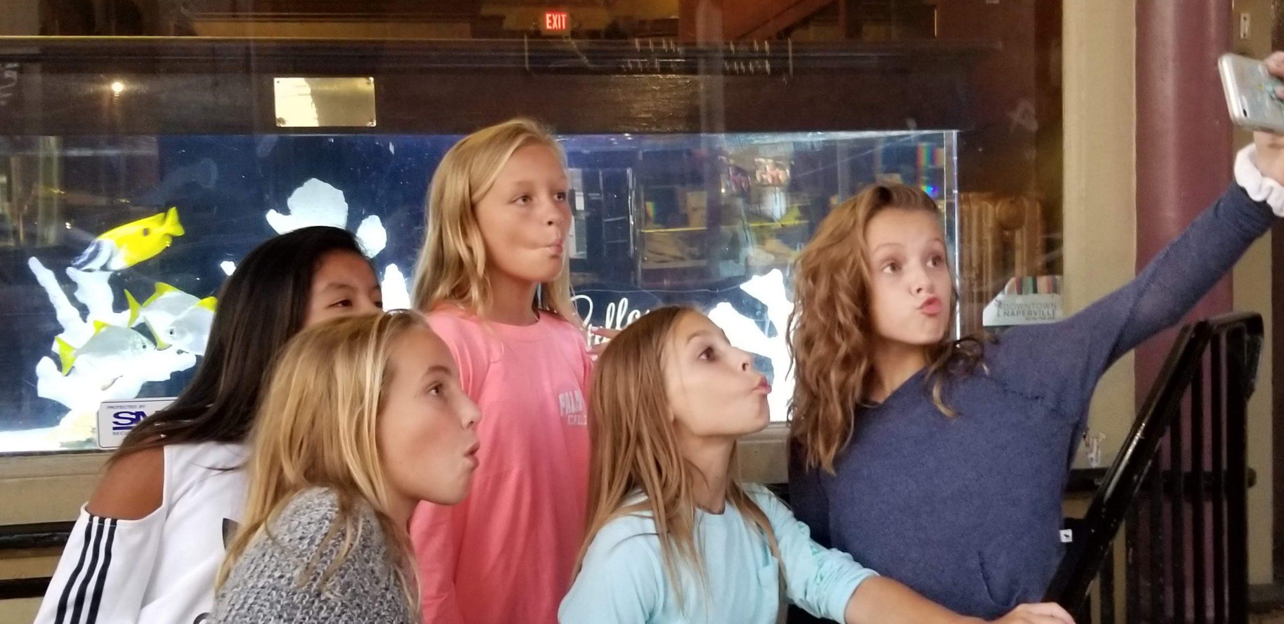 tween girl birthday party idea: scavenger hunt