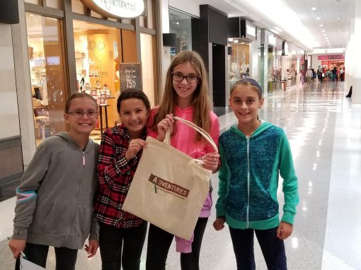 Enjoy a scavenger hunt in your local mall